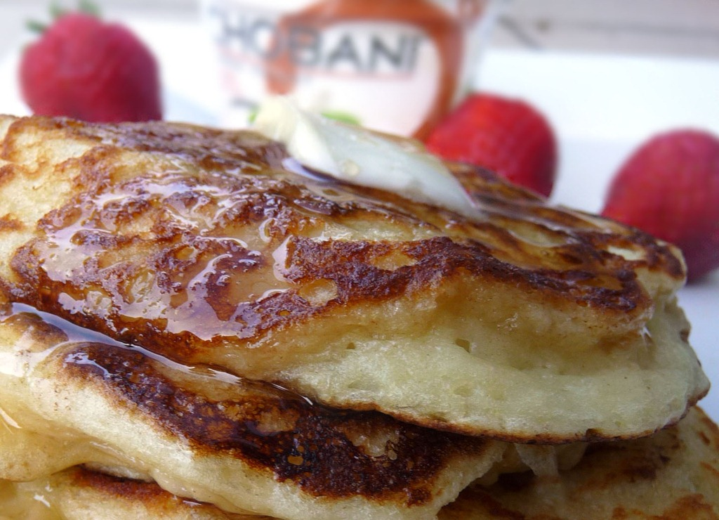 Whisk Me Away.....: Greek Yogurt Pancakes