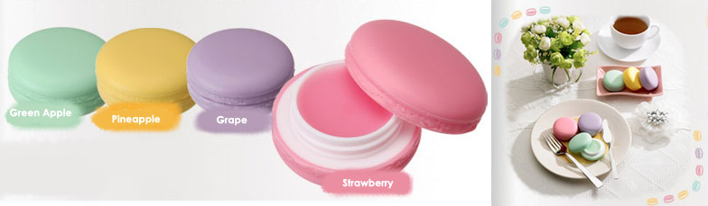 15 Macaron Inspired Beauty Products - Macaron Lip Balm