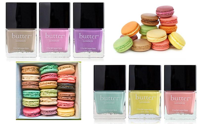 15 Macaron Inspired Beauty Products - Macaron Nail Polish