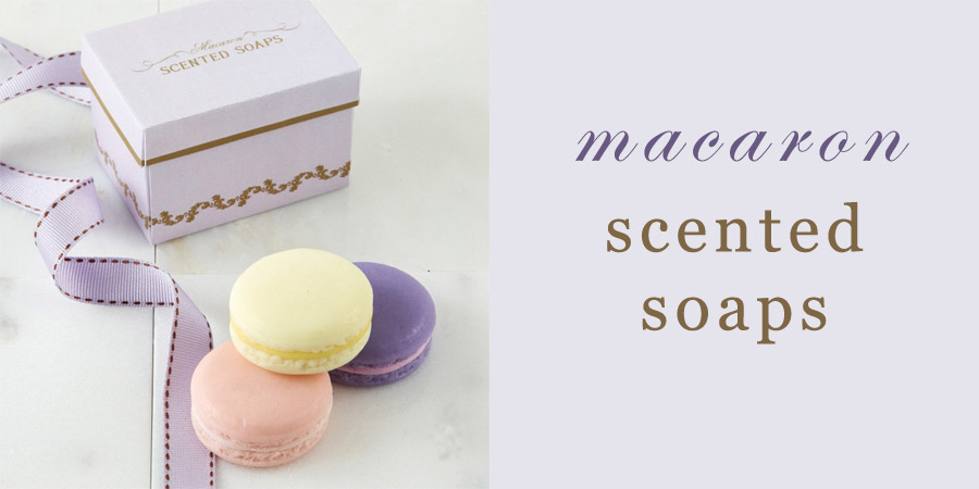 15 Macaron Inspired Beauty Products - Macaron Scented Soaps