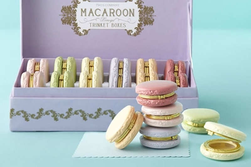 15 Macaron Inspired Beauty Products - Macaron Trinket Box